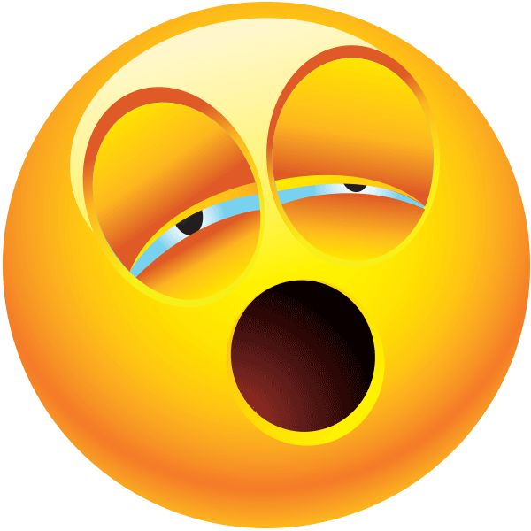 Yawn clipart smiley emoticon. Best smileys images