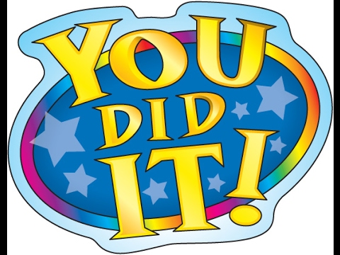 Yay clipart. Collection you did it