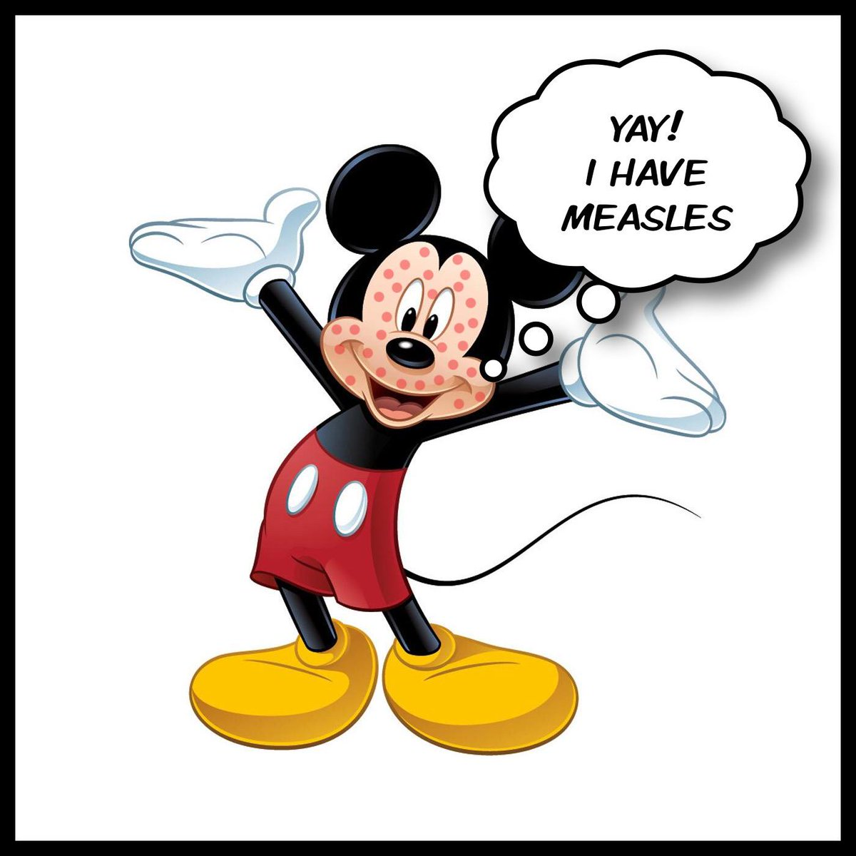 Yay clipart mickey mouse. Jon chusid on twitter