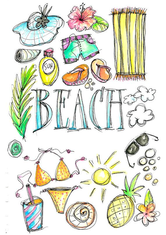 Yay clipart testing. Best watercolor summer images