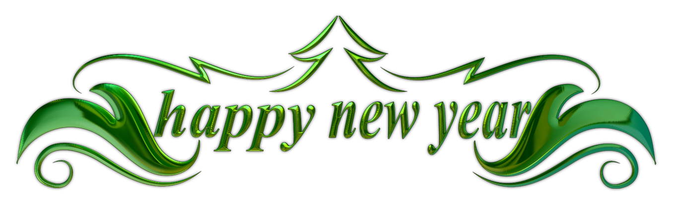 Year 2016 png. File happy new text