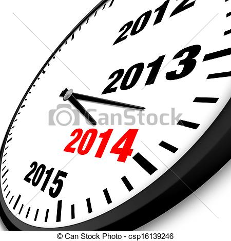 Year clipart.  new clock csp vector royalty free download