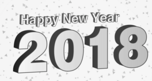 Year clipart. New black and white freeuse download