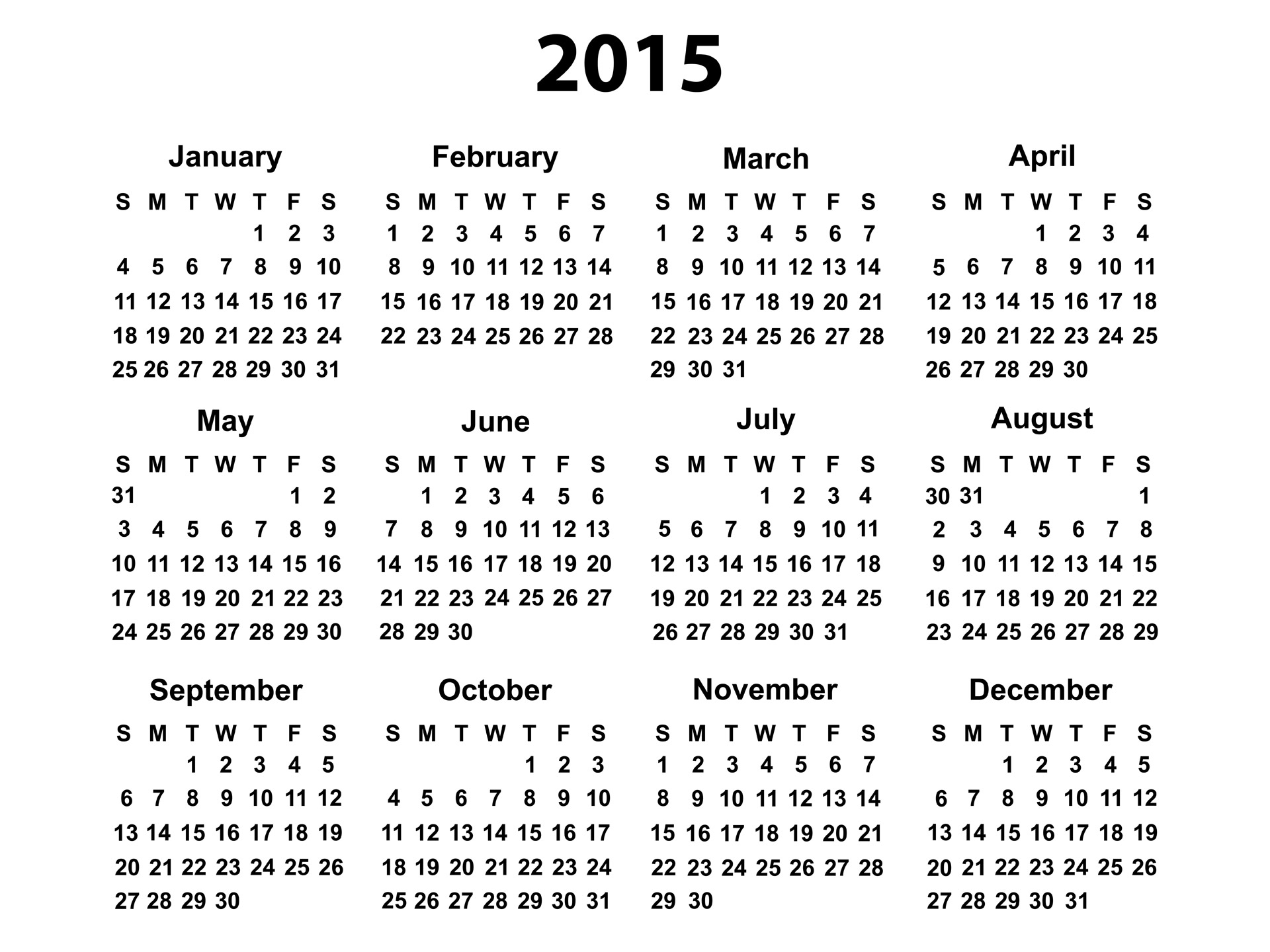 Year clipart black and white. Calendar free stock