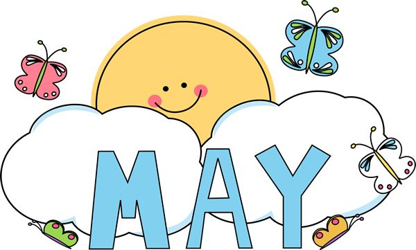Year clipart may 2018. Best happy month of