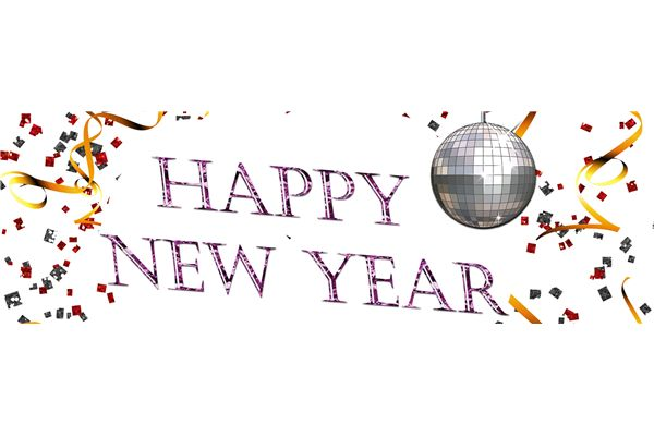 Year eve clipart happy. New years banner