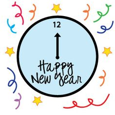 Year clipart new years eve. Happy for kids and