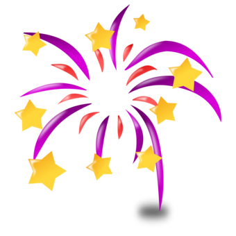 Year eve clipart fireworks. Animation animated cartoon download