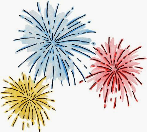 Year eve clipart fireworks. Best happy new