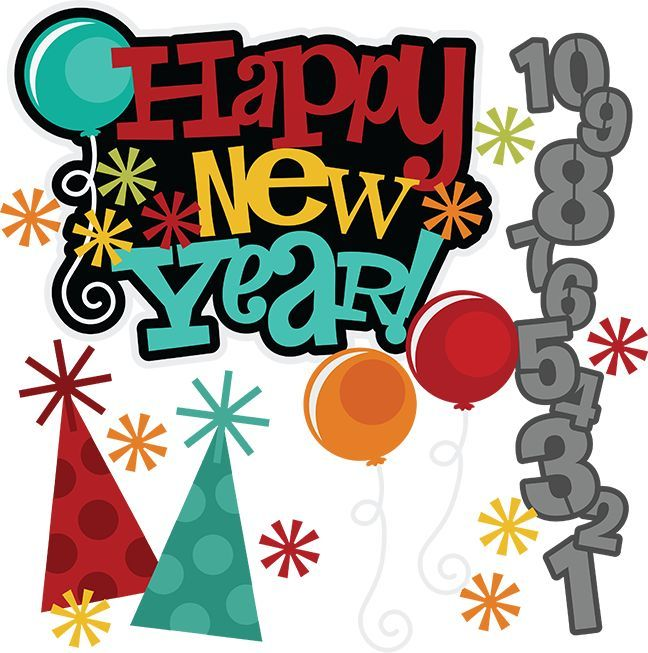 Year eve clipart happy. New svg free svgs