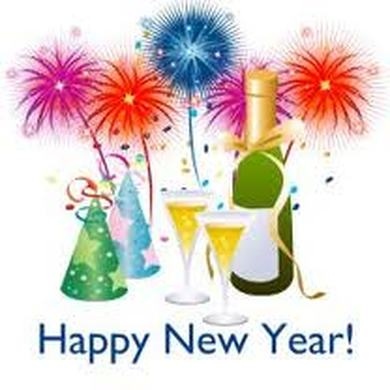 Year eve clipart happy. New years graphics wallpapers