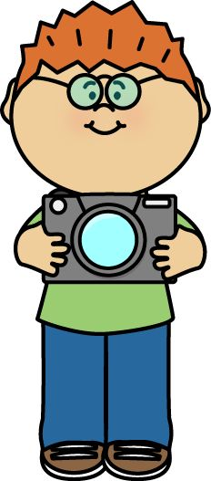 Yearbook clipart camera photo shoot. Class photographer girl taking