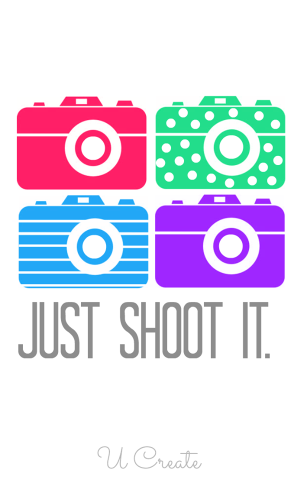 Just shoot it photography. Yearbook clipart camera shot vector freeuse