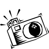 Yearbook clipart clip art. Black and white alternative