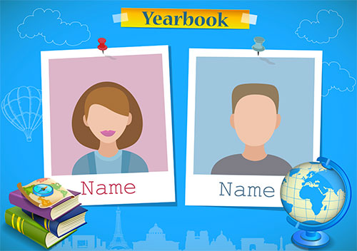 Classroom activities to create. Yearbook clipart making memory transparent stock