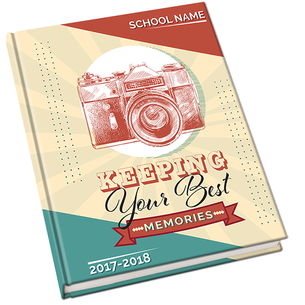 Yearbook clipart snapshot camera. Cover