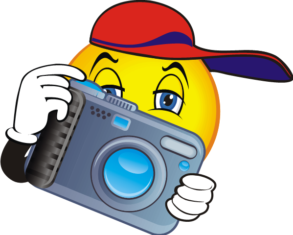 Yearbook clipart snapshot camera. Trojan daily smore newsletters
