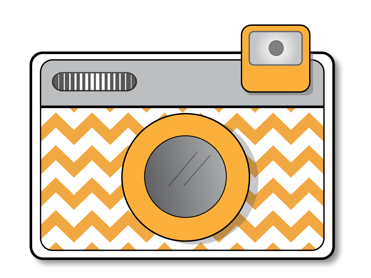 Yearbook clipart snapshot camera. Free clip art download