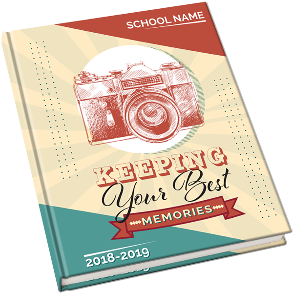 Yearbook clipart snapshot camera. Cover photo theme your