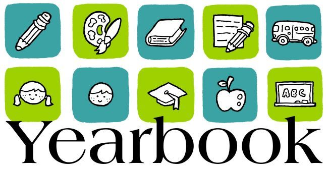Yearbook clipart yearbook club. Clubs information logo