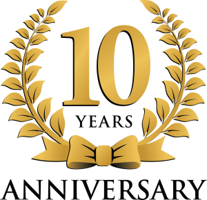 Years clipart 10 year. Funky monkey tours and