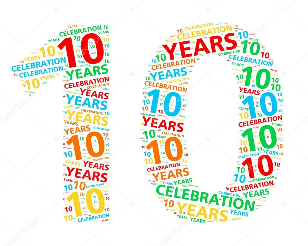 years clipart 10 year