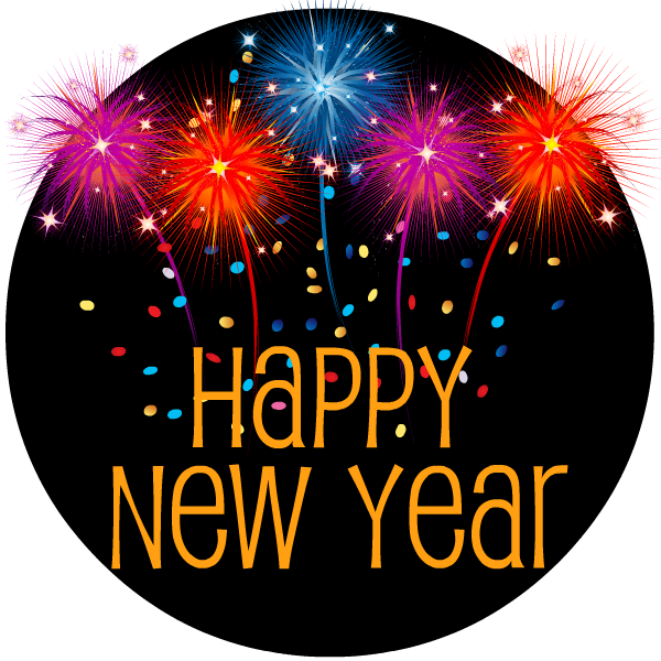Years eve clipart happy. Free new clip art