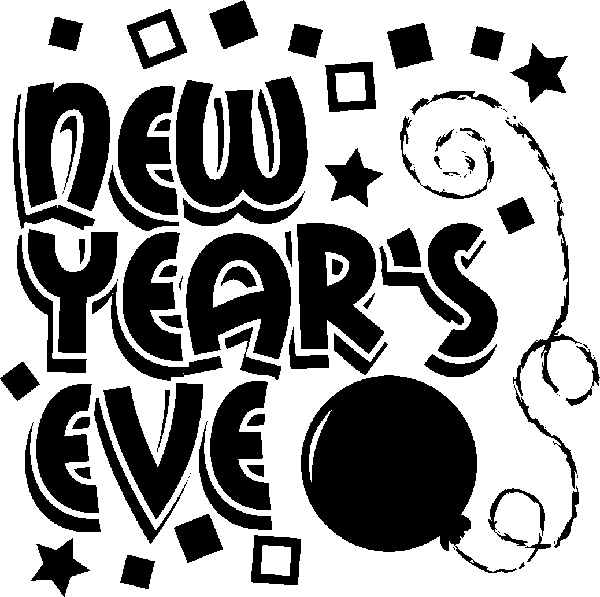 Years eve clipart clip art. New photo niceclipart