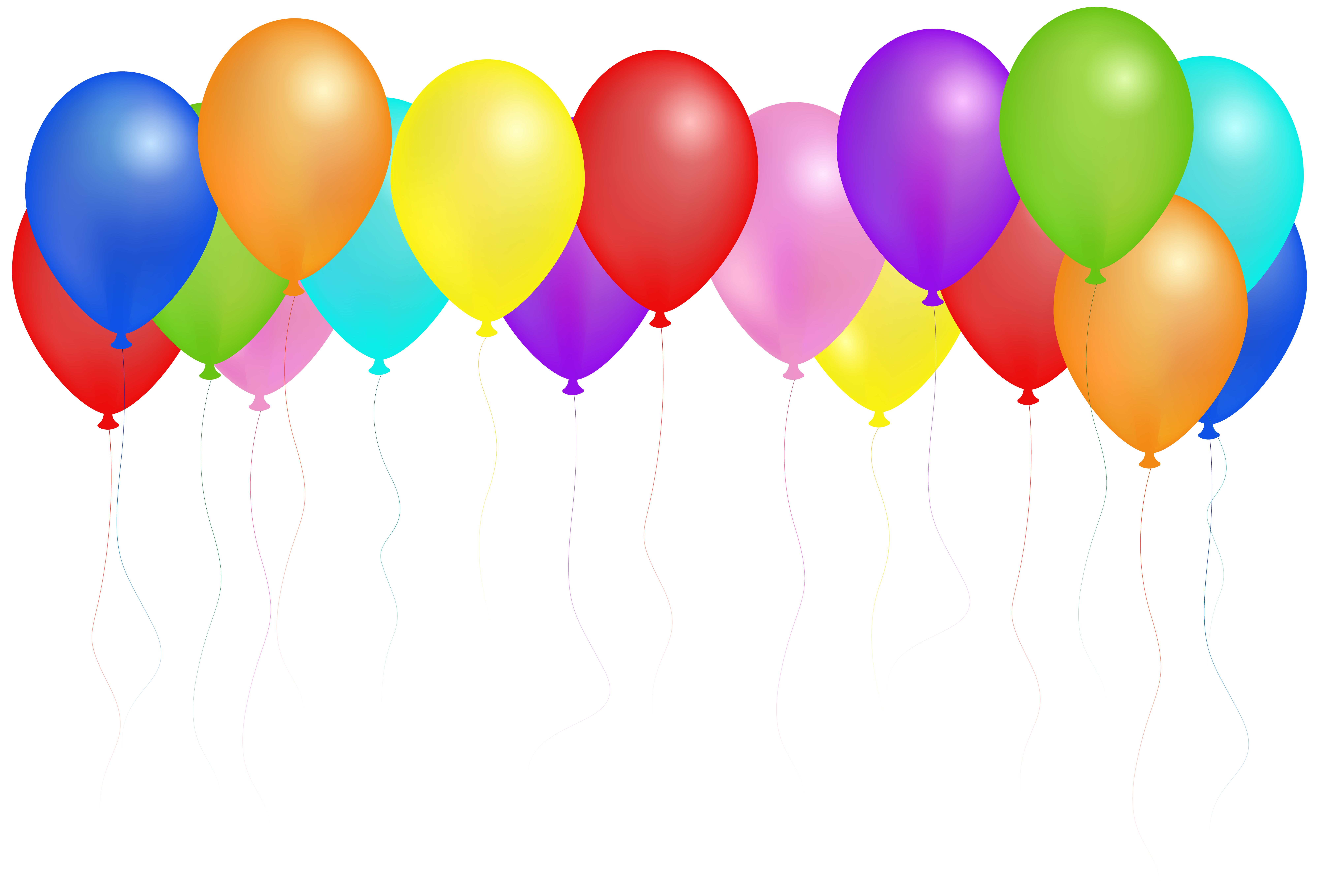 Years free clipart balloons. Png clip art image