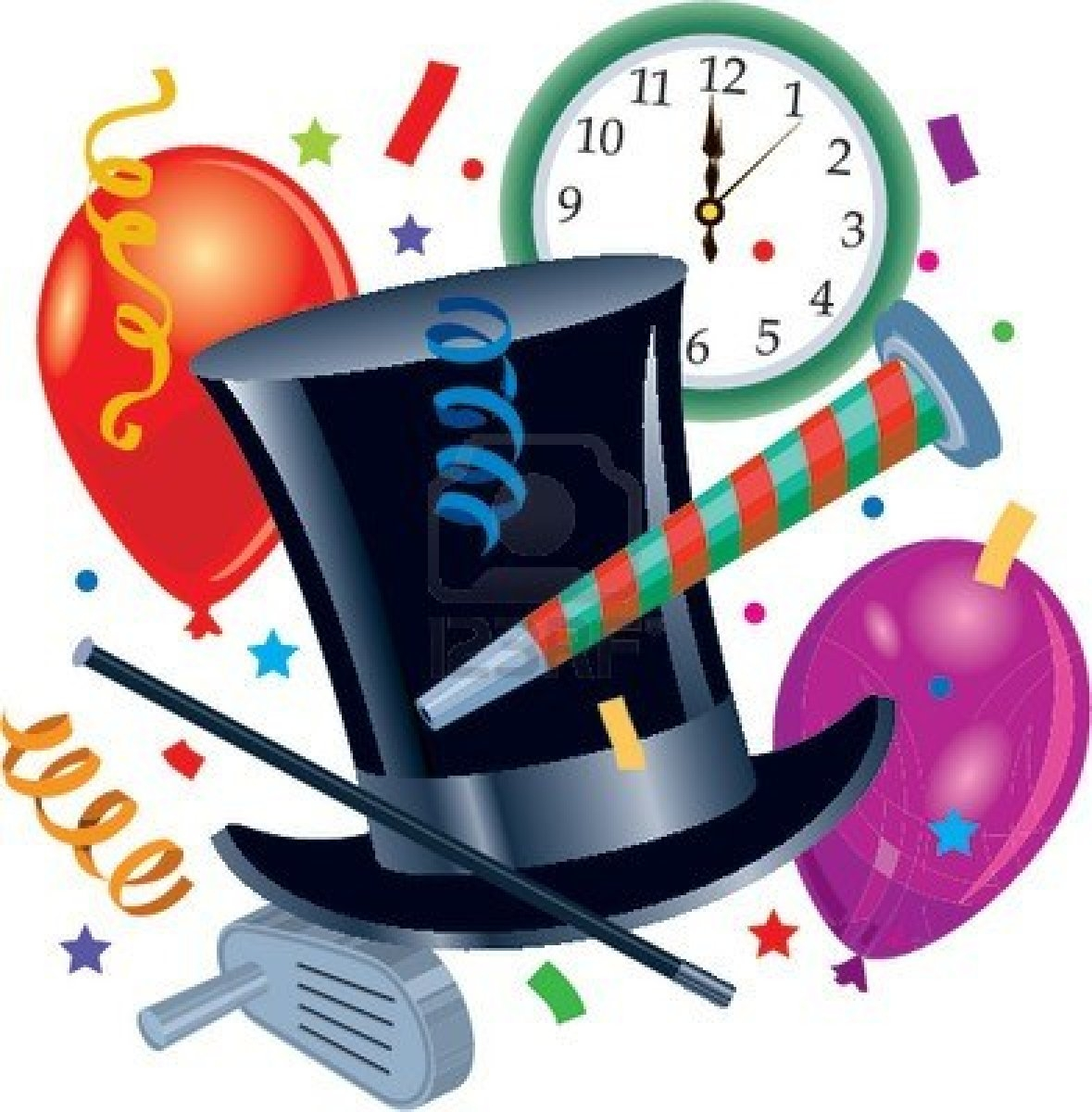 Years free clipart eve party. New year gallery digital