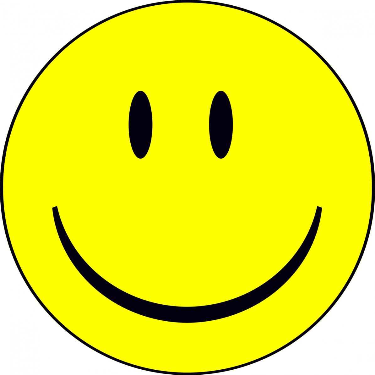Years free clipart happy. Laughing smiley face clip