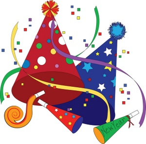 Years free clipart hat. New year clip art