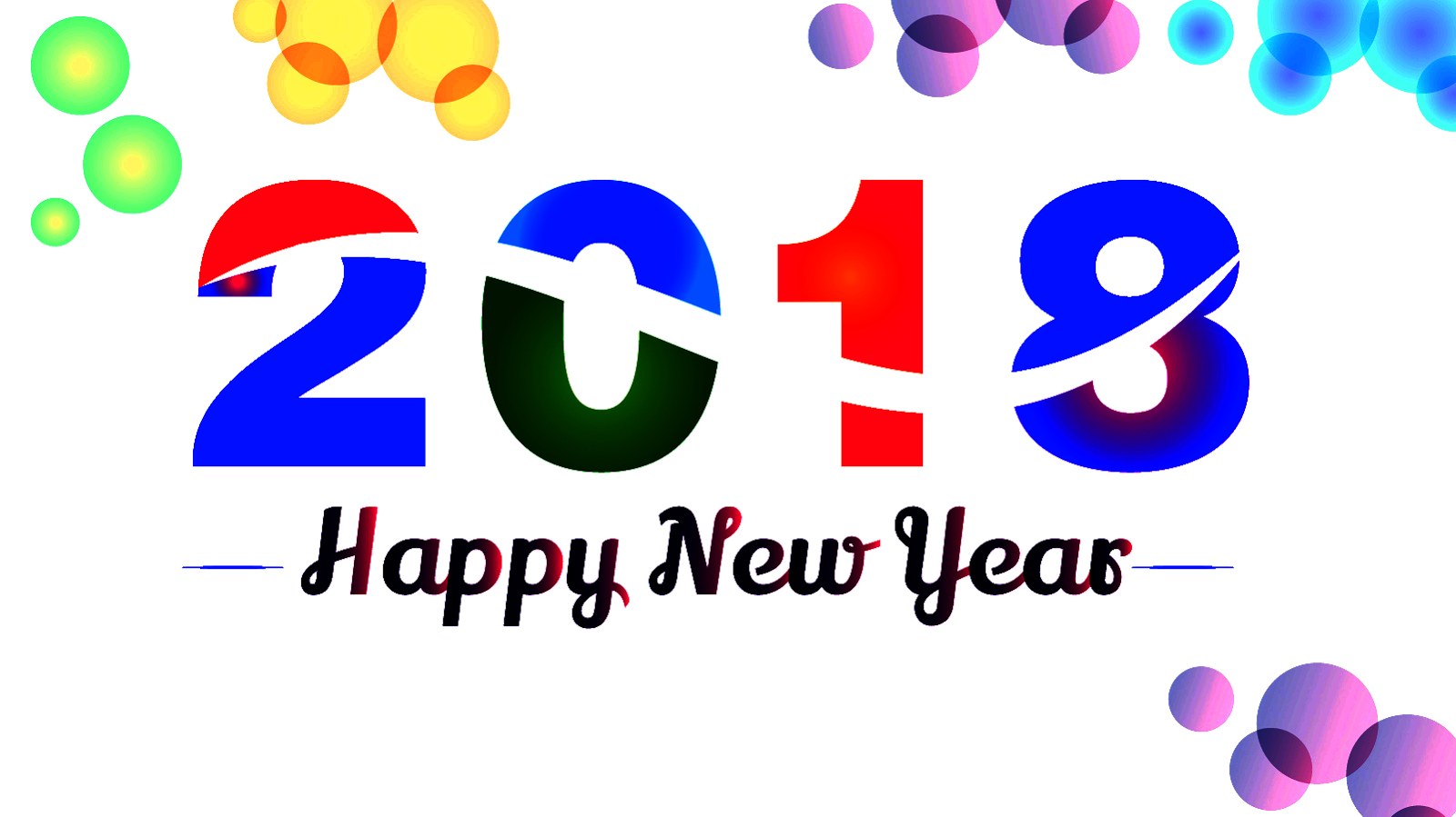Years free clipart year 2018. Happy new images