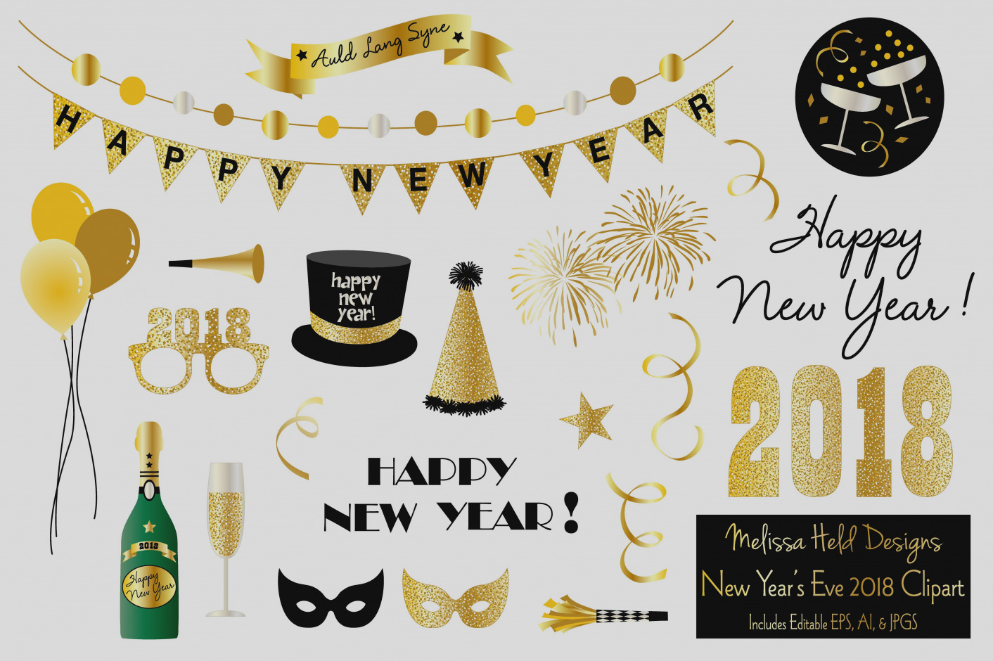 Years free clipart years eve. New pictures clip art