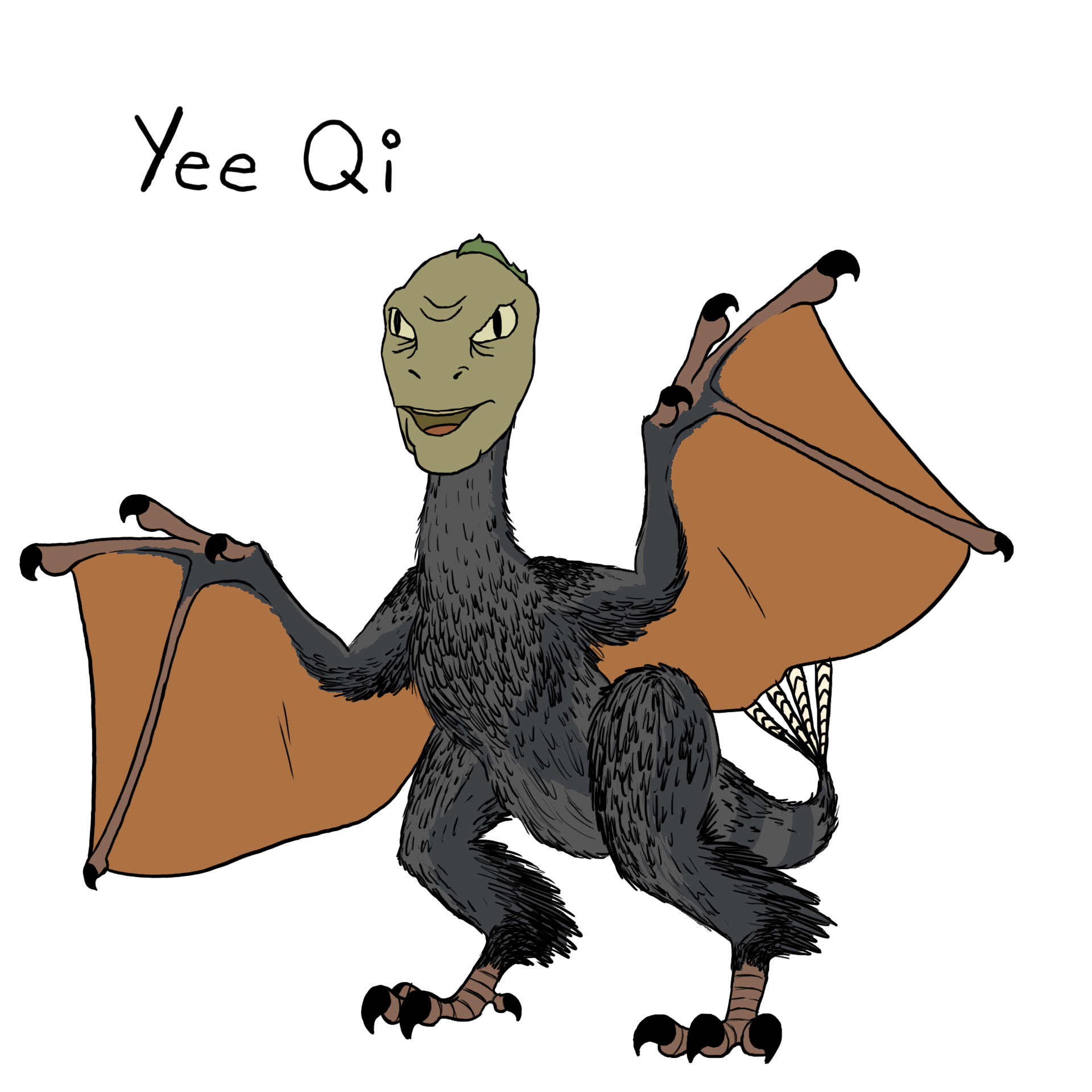 Yee dinosaur png. Qi know your meme