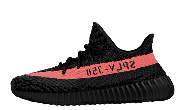 Yeezys transparent black red stripe. Yeezy png images pluspng