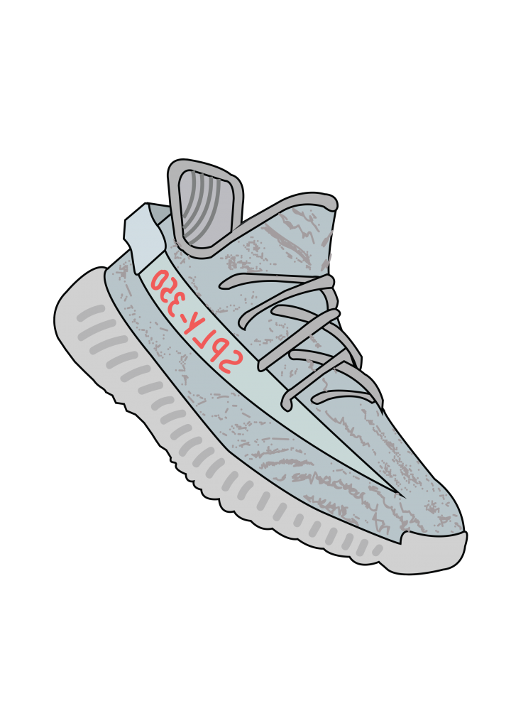 Yeezys transparent blue tint. Yeezy boost official images