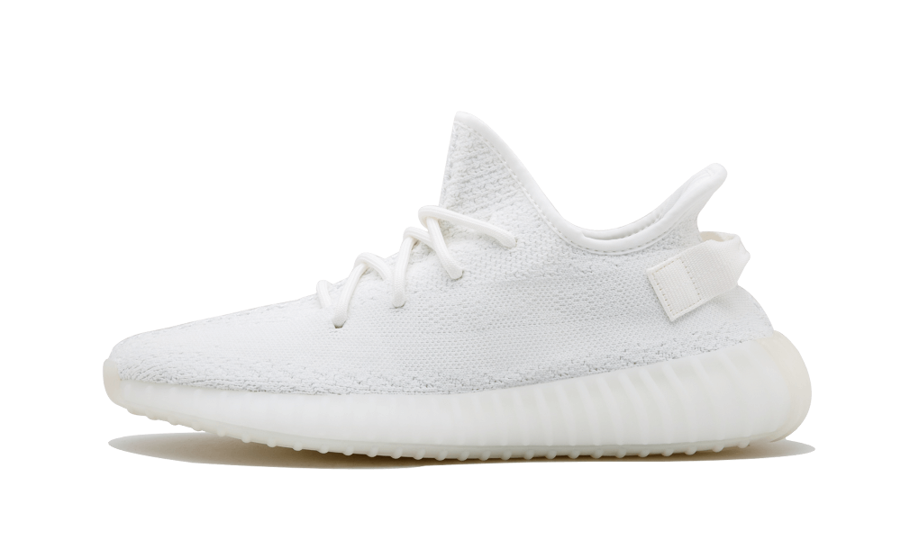 Yeezy transparent cookie cream. Adidas boost v white