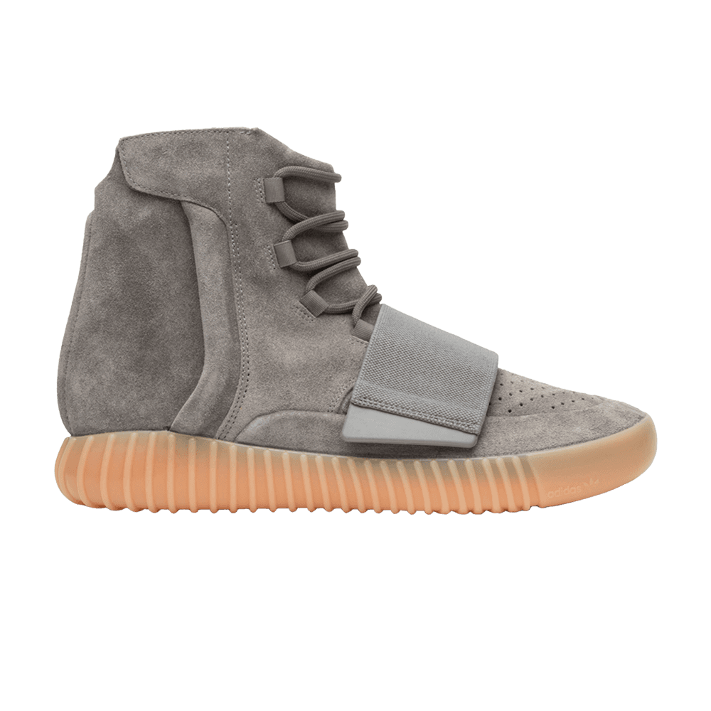 Yeezy transparent grey gum. Boost glow in the