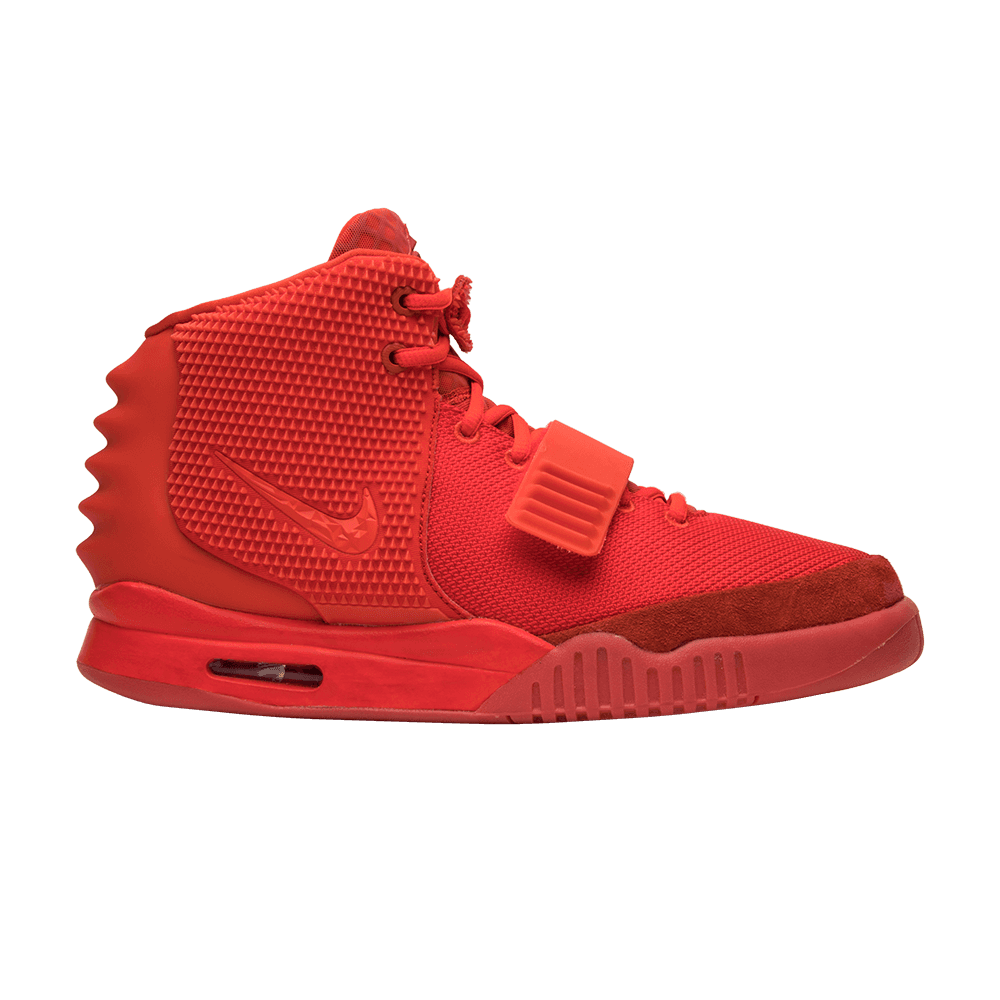 Yeezy transparent red october. Air sp nike goat
