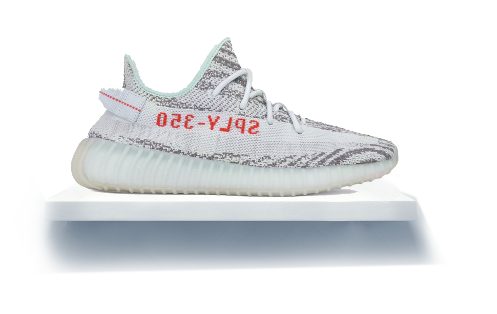 Yeezys transparent blue tint. Yeezy boost official release