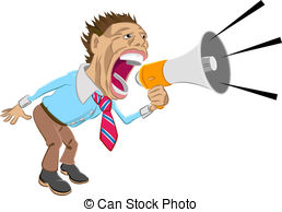 Stock illustration images illustrations. Yell clipart banner royalty free