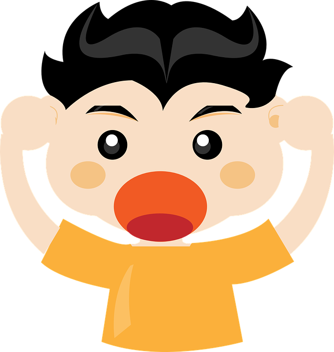 Yell clipart coach yelling. Latest buds clip art