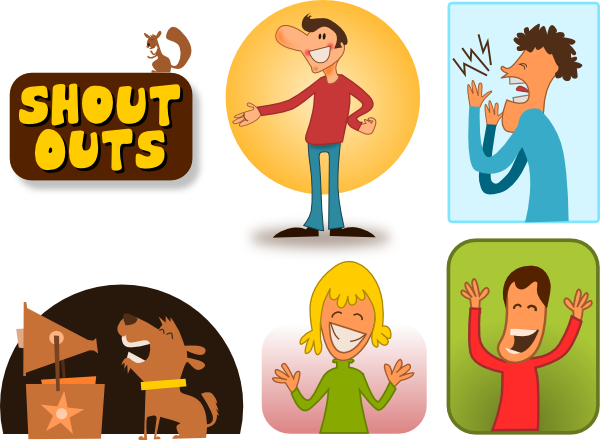 Yell clipart illustration. Free shouting cliparts download