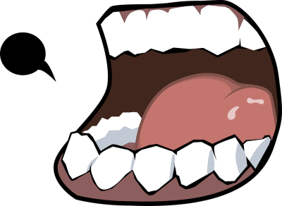 Png dlpng scream mouth. Yell clipart shout jpg free
