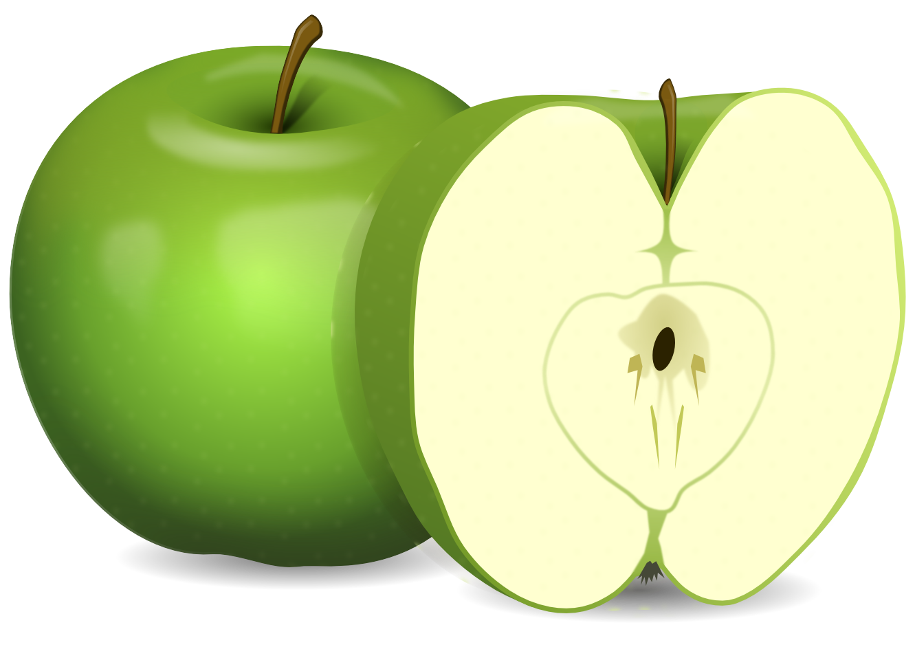 Yellow apples clipart png. Red apple image purepng