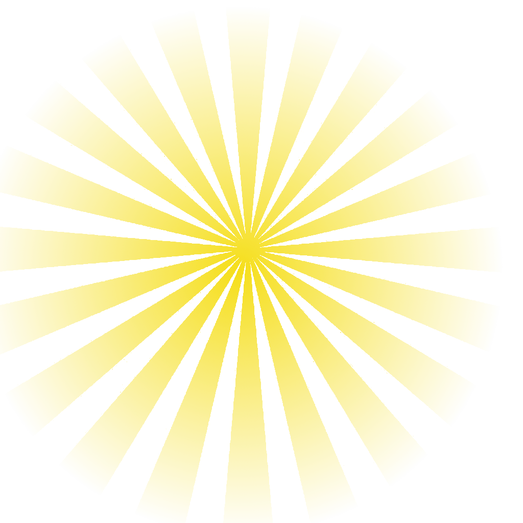 Sunlight png. Yellow sun rays free