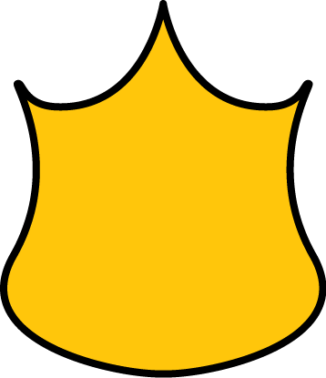 Yellow badge png. Police clip art image