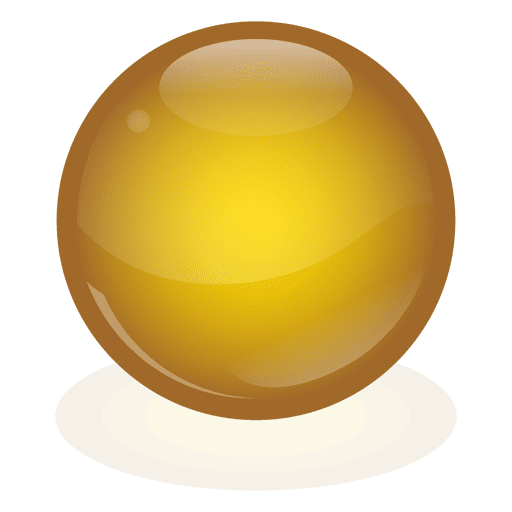 Yellow ball png. Marble transparent svg vector
