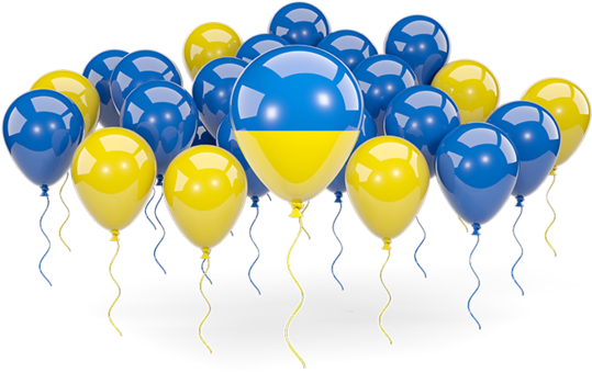 Yellow balloons png. Download hd blue and